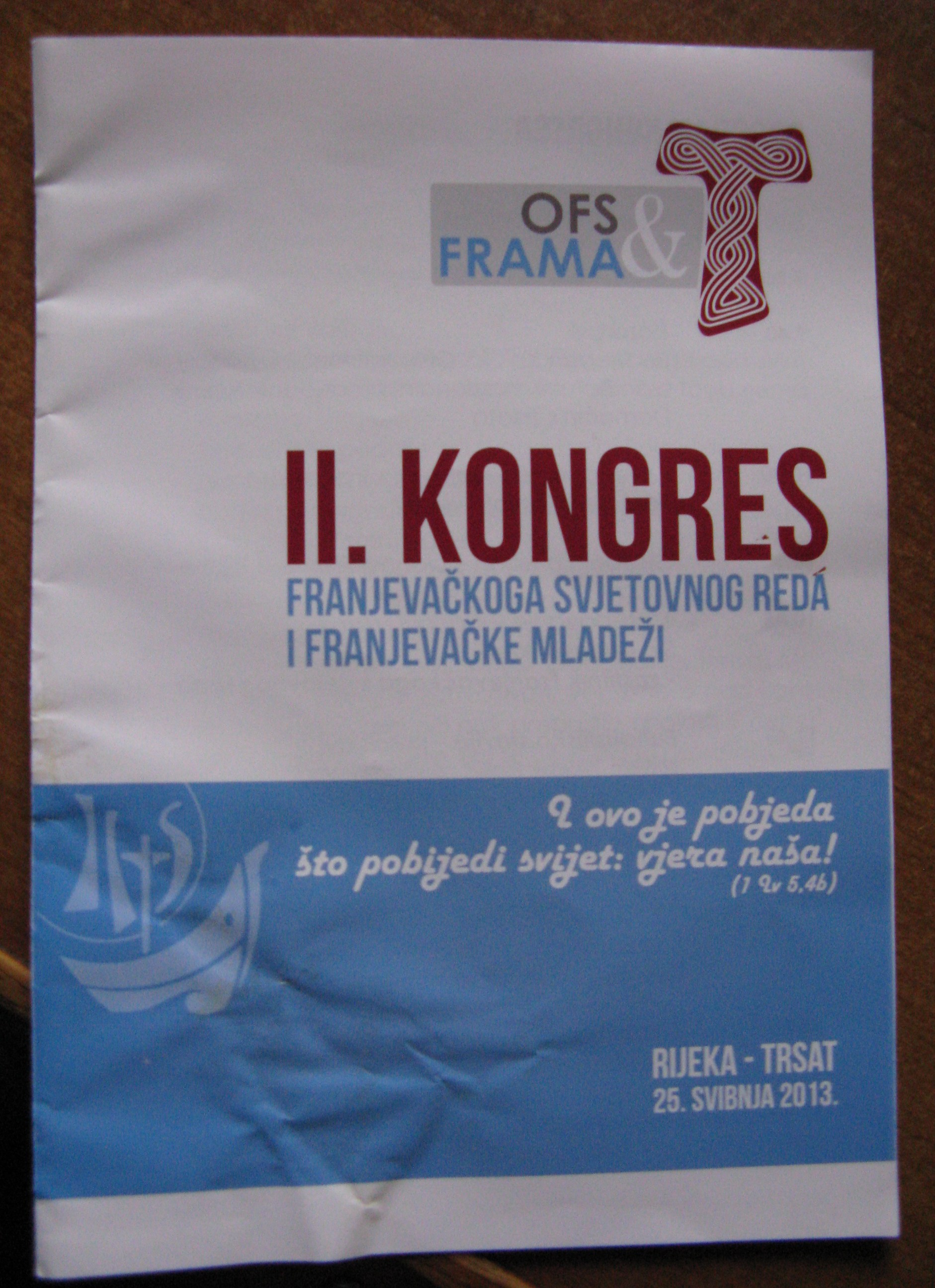 Narodni kongres hrvaške FRAME in OFS-a